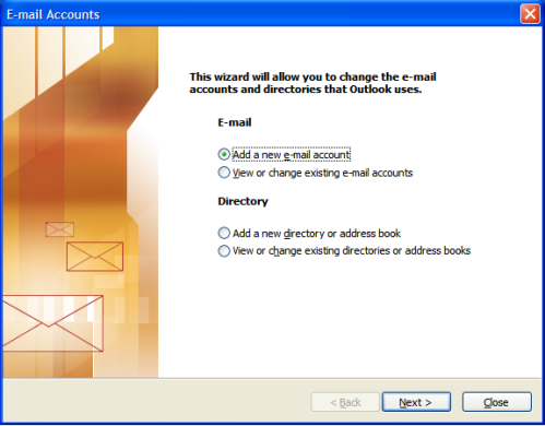 Outlook 2003 at Email Address Store
