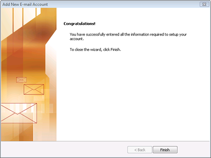 Outlook 2007 at Email Address Store